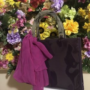 Neiman Marcus Purple Handbag!